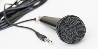 Microphone for Karaoke. Royalty Free Stock Images