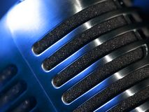 Microphone macro abstract Royalty Free Stock Photography
