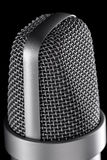 Microphone macro Stock Photos