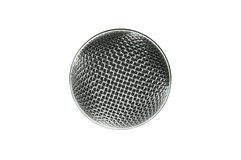 Microphone mesh Royalty Free Stock Photography