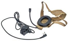 Microphone par radio Image libre de droits