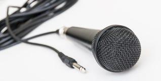 Microphone pour le karaoke Images libres de droits