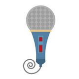 Microphone present show Stock Images