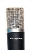 Microphone professionnel Photos libres de droits