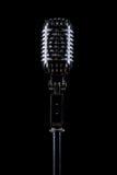 Microphone professionnel de cru Image stock
