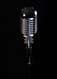Microphone professionnel de cru Image libre de droits