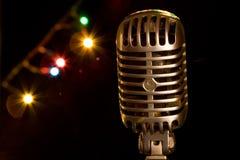 microphone rétro Images stock
