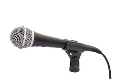 Microphone on a rack Stock Photography