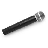 Microphone radio vintage isolated white background Royalty Free Stock Image