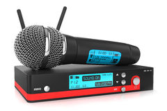 Microphone receiver Royalty Free Stock Photo