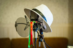 Microphone record intellegent Images stock