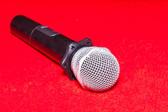 The microphone stock photos