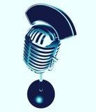 microphone retro Στοκ Εικόνες