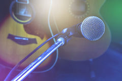 Microphone. Royalty Free Stock Image