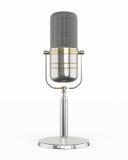 Microphone retro Stock Image