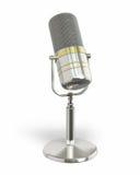 Microphone retro Royalty Free Stock Photo