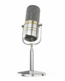 Microphone retro Royalty Free Stock Images