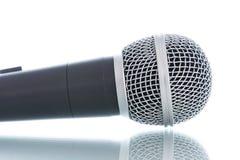 Microphone sans câble Photo stock
