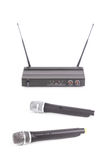 Microphone sans fil Image stock