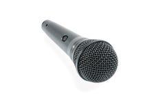 Microphone sans fil noir Photographie stock libre de droits