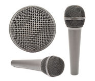 Microphone Set Stock Photo