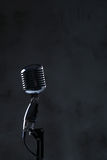 Microphone. Sound studio. Microphone in close-up royalty free stock photo