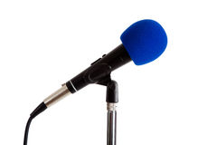 Microphone on a stand Royalty Free Stock Photos