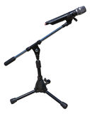 MicroPhone on Stand. Stock Photos