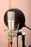 microphone studio Στοκ εικόνες με δικαίωμα ελεύθερης χρήσης