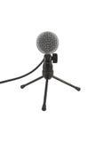 Microphone sur le stand Photos libres de droits