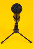 Microphone sur le stand Photographie stock