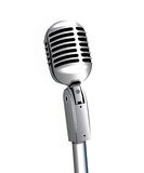 Microphone sur le support Image stock