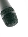 Microphone up Stock Photo