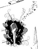 Microphone vector Royalty Free Stock Images