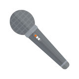 Microphone vector icon isolated interview music TV web broadcasting vocal tool show voice radio broadcast audio live Stock Photo