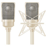 Microphone vector illustration Stock Image