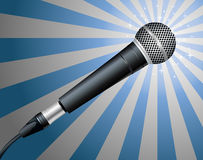 Microphone. Vector illustration Royalty Free Stock Photos