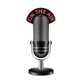 Microphone vector illustration Royalty Free Stock Photography