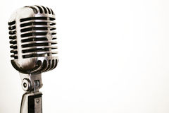 microphone vintage Στοκ Εικόνες