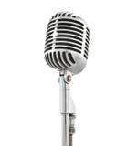 microphone vintage Fotografering för Bildbyråer
