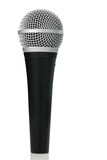 Microphone on White Royalty Free Stock Photo