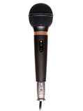 Microphone on White Stock Images