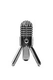 Microphone on a white background Stock Photo
