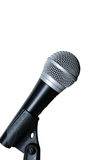 Microphone on a white background Stock Photography