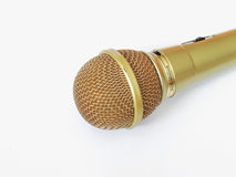 Microphone on white background royalty free stock images