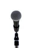 Microphone on White Royalty Free Stock Images