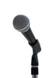 Microphone on White Stock Image