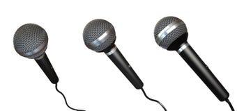 Microphones illustration de vecteur