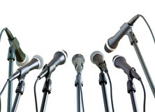 Microphones Royalty Free Stock Photography