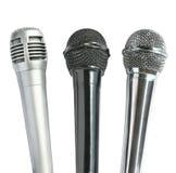 Microphones Stock Photos